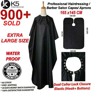Professional Salon Barber Apron Hair Capes Hair Cutting Hairdressing Cloth Gown