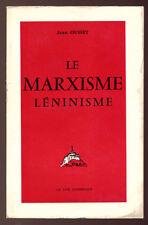 OUSSET, LE MARXISME LÉNINISME (CRITIQUE CATHOLIQUE)
