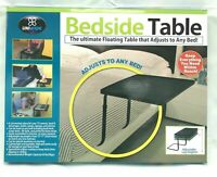 Bedside Table Convenient Adjusts to Any Bed *MELBOURNE STOCK*