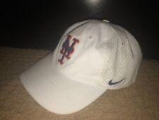 Women's White + Blue + Orange Nike Adjustable Baseball Cap