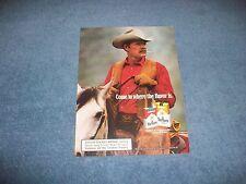 """1986 Marlboro Cigarettes Vintage Ad """"Come to Where the Flavor is."""""""