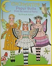 New! Enchanted Paper Dolls from the Land of Faerie Book from Paperdoll Review