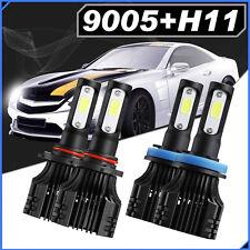 9005 H11 4PCS 440W CREE LED Headlights Lamp Bulbs Conversion Kit High+Low 6000K