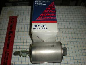 AC-DELCO GF578 FUEL FILTERS 1992-2002  gm 25121293
