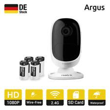 Reolink Argus Überwachungskamera 100% Kabellos 1080P IP Kamera Batteriebetrieben