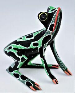Oaxacan Wood Carving Javier Blas Frog Oaxaca Mexican Folk Art Alebrije Mexico