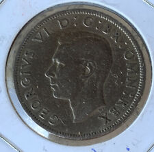 1948 GREAT BRITAIN KING GEORGE VI TWO SHILLINGS KM# 865