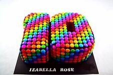 Personalised Birthday/Celebration Cake Smarties double Number Cake made to order