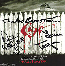 CUJO Intrada CD Soundtrack SIGNED - CHARLES BERNSTEIN, DEE WALLACE, TEAGUE oop!