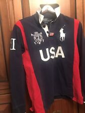 Polo Ralph LaurenUSA Flag Snow Challenge Cup Rugby Shirt Size M