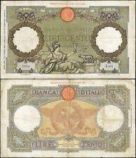 100 Lire Capranesi 19/10/1939 Azzolini - Urbini