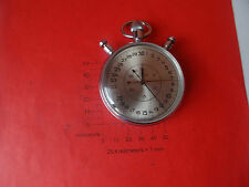 OLD Vintage  rare Russian stopwatch SLAVA 20 STONE MILITARY MECHANICAL 10