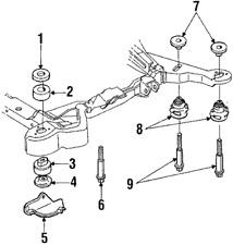 genuine oem parts for cadillac allante ebay 1991 Cadillac Seville genuine gm bolt 11517635