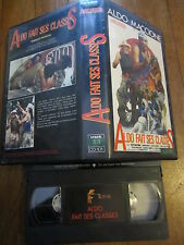 Aldo fait ses classes avec Aldo Maccione, VHS, Comédie, RARE INEDIT DVD!!