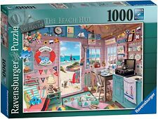 Ravensburger My Haven 7 The Beach Hut 1000 piece puzzle New Sealed Rare