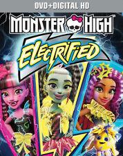 PRE ORDER: MONSTER HIGH: ELECTRIFIED - DVD - Region 1 - Sealed