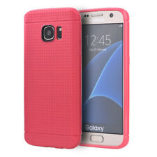 SAMSUNG GALAXY S7 DOTTED TPU BACK CASE - HOT PINK