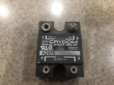USED CRYDOM SOLID STATE RELAY A2475