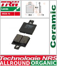 2 Plaquettes frein Arrière TRW Lucas MCB75  Moto Guzzi 650 Florida 92