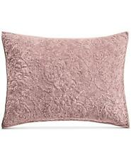 Martha Stewart Collection Velvet Flourish Quilted Standard Pillow Sham Mauve $60