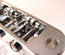 CHROME REPLACEMENT ROLLER GUITAR BRIDGE - small posts