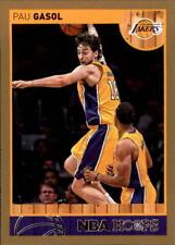 2013-14 NBA Hoops Gold #4 Pau Gasol Los Angeles Lakers