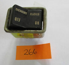FIAT 124 SPIDER EMERGENCY FLASHER SWITCH (REF 266)