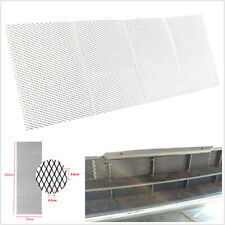 "40""x13""/100×33cm Vehicle Front Racing Grille Mesh Aluminium 3mm*6mm Net Silver*1"