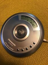 Panasonic SL-MP73J SL-MP50 Portable MP3 CD Player Anti-Skip TESTED! Great Sound