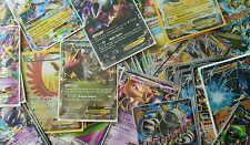 Pokemon Card lot (5 cards) - 4 Holo Rare + 1 EX, MEGA or Full Art!  HUGE Value!