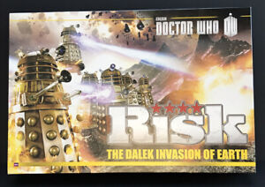 Doctor Who RISK GAME The Dalek Invasion of Earth Edition.Contents Sealed Unused