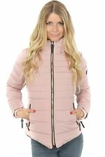 Marikoo Amber Steppjacke gefüttert Winterjacke 80003 Fashion Look Jacke Outdoor