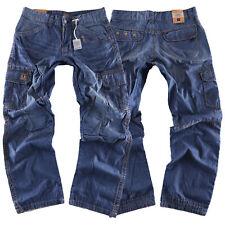 Timezone Herren Jeans Hose Benito TZ  3131 Denim Cargo Pants