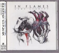 In Flames Come Clarity Japan CD Obi Sticker 2006 TFCK-87399