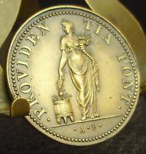 Médaille religieuse uniface Providencia Pont Religious Medal 铜牌 religiösen