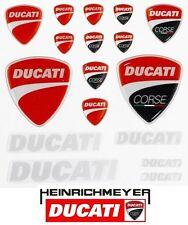 Ducati Sticker Aufkleber Set Corse 3D (17-teilig)