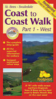 Coast to Coast Walk. St.Bees to Swaledale by Footprint (Sheet map, folded book,