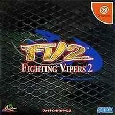 DC Fighting Vipers 2  Dreamcast Japan Import SEGA