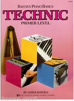 Verfahren Bastien Für Lo Studio Der Klavier, Technic (Technik) Primer Level