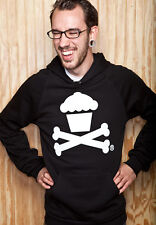 "JOHNNY CUPCAKES-  ""Cupcake and Crossbones"" Pullover-  New in Bag- Size XXL"