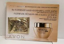 Avon Anew Ultimate Night Multi Performance Cream .04oz - total of 50 Samples!