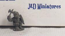 Grenadier TSR AD&D D&D 5002 Monsters Lesser Orc w. Waraxe Pre Slotta Metal