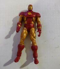 "Marvel Legends 6"" scale figure Iron Man Retro series loose excellent"