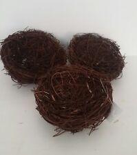 "3"" Empty  Birds Nest Decoration Wreath Craft Spring Easter"