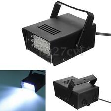 Mini 24 Patterns LED 3W White Stage Flashing Light  Light Strobe Club Party NEW