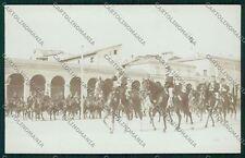 Reggio Emilia città Militari Foto cartolina QK0269