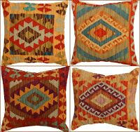 Vintage Look Kilim Turkish Cushion Cover,Handmade Kelim Oriental Covers