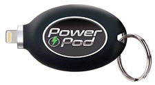 Power Pod External Phone Charger Portable Keychain for Samsung / LG / Motorola