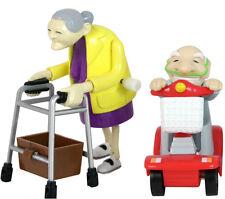 Rasende Oma - Rasender Opa im Set mit Rollstuhl und Rollator, Racing Grannies