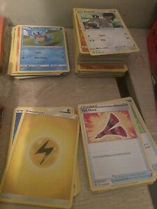 Bulk Of 150+ Pokemon Cards including holos and rares